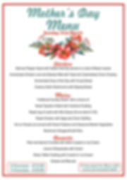 mother's day menu 2019 take 2 (with red)