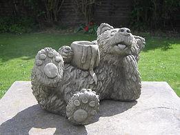 Honey Pot Bear Garden Statue