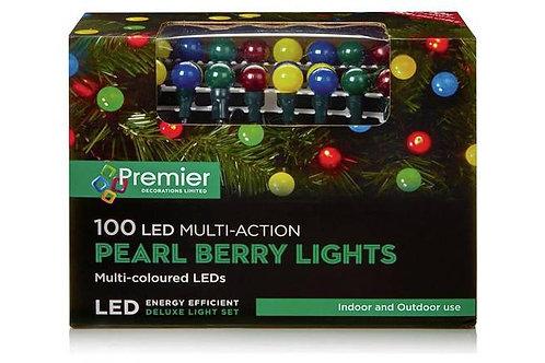Premier 100 M-A Multi Pearl Berry Lights LEDs