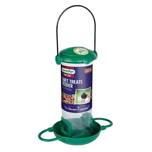 Gardman Fliptop Treat & Mealworm Feeder