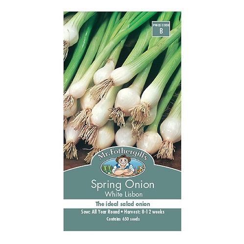 Mr Fothergills Seeds Spring Onion White Libon
