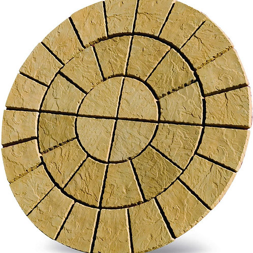 Cathedral Circle Patio Kit 1.8m Barley