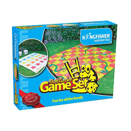 Kingfisher Multi-Game Set Snakes & Ladders And Tangled