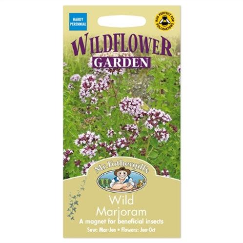 Mr Fothergills Seeds Wild Majoram