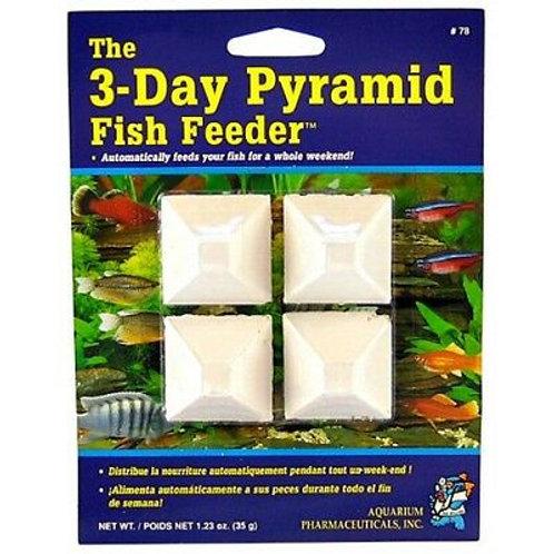 API 3 day Fish Feed Block Mini Pyramid