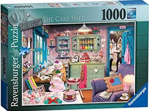Ravensburger The Cake Shed 1000 Piece Puzzle