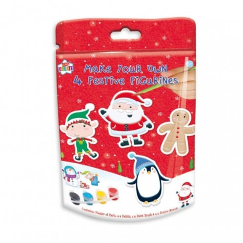 Christmas Festive Figurines 4 Pack