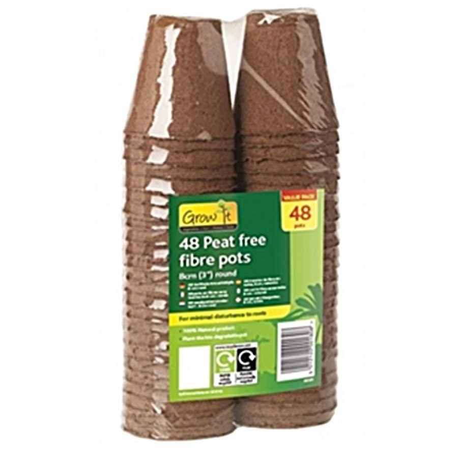 Peat Fibre Pots