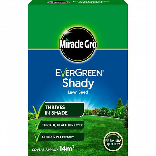 Miracle Gro Lawn Shady & Dry Grass Seed 420g