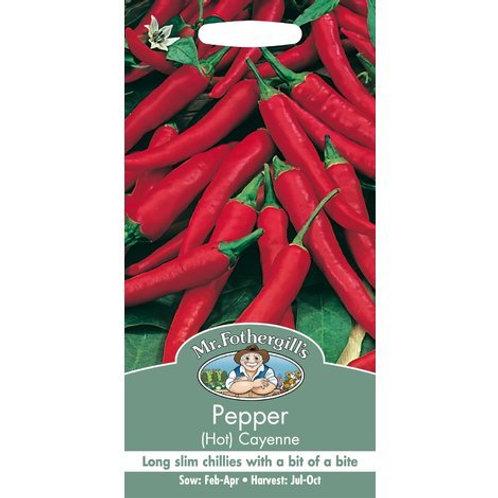 Mr Fothergills Seed Pepper Hot & Sweet