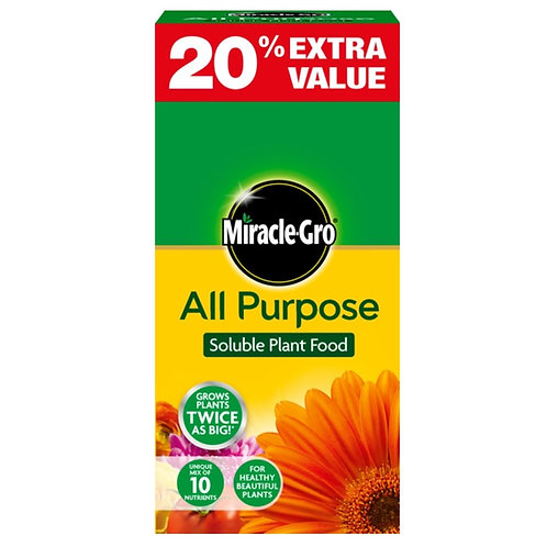 Miracle Gro All Purpose 1kg + 20% Extra Free