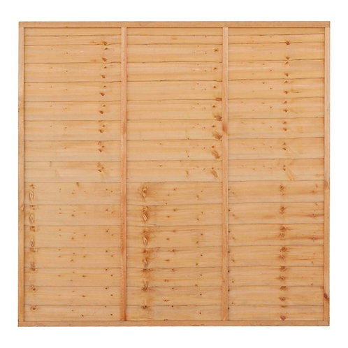 Lap Fence Panel (Wooden Fencing)