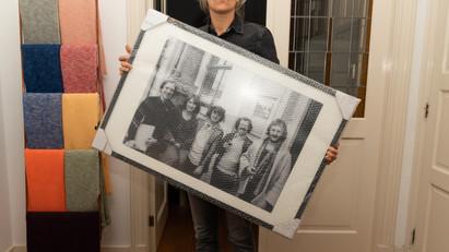 Framed Lambda Photo Print