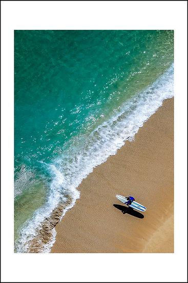 Surfing in Honolulu  @ O'ahu - Hawaiian Islands