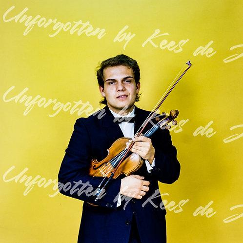 Jaap van Zweden (violonist/ conductor) | photo: by Kees de Jong  (Buy Limited Music Photography)