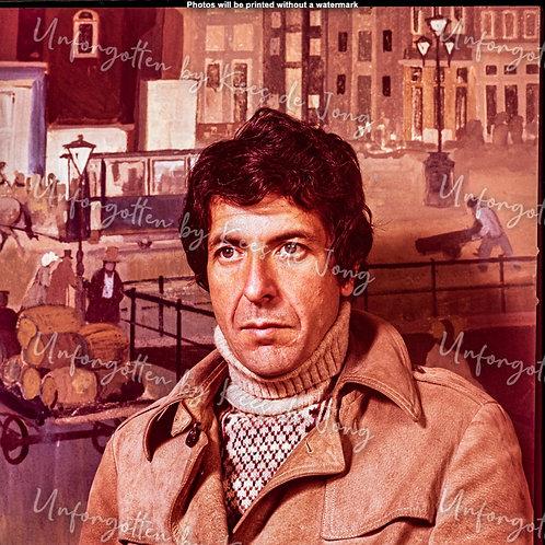 Leonard Cohen  06 | 50cm x 50cm