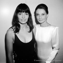 Beverly Craven & Audrey Hepburn