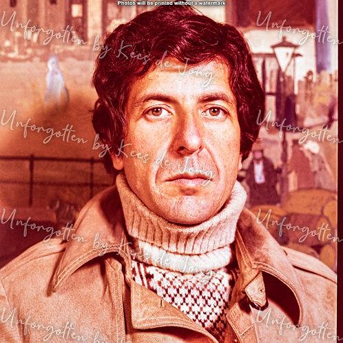 Leonard Cohen  07 | 50cm x 50cm