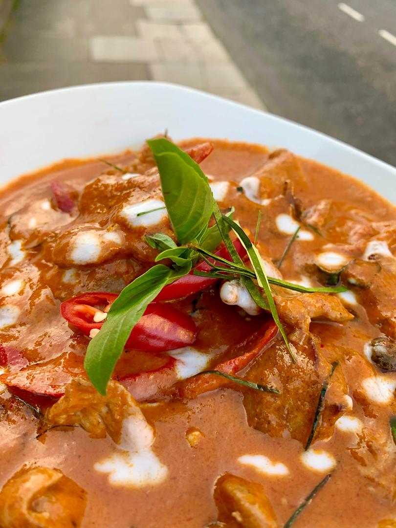 Pork Paenang Curry