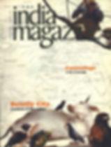 magazine cover, india magazine, layout design
