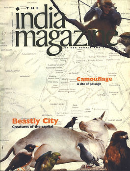 magazine cover, india magazine, layout design