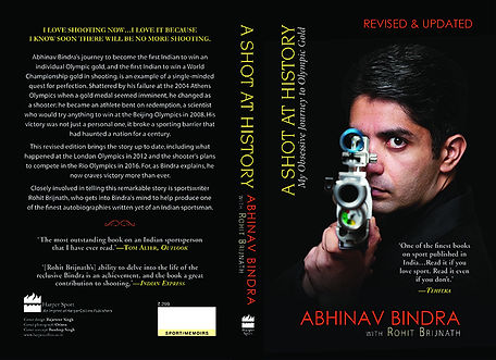 abhinav bindra, sports book, archery