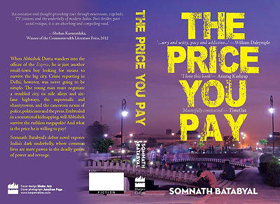 The Price you pay by somnath batabyal, fiction,