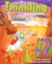magazine cover, THINKLING magazine, layout design, Children's magazine