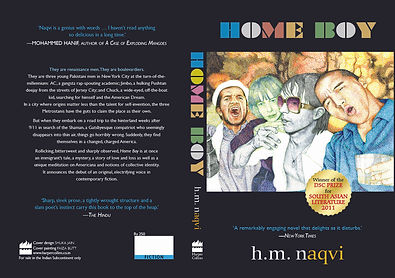 Home Boy, fiction in english from pakistan, h m naqvi