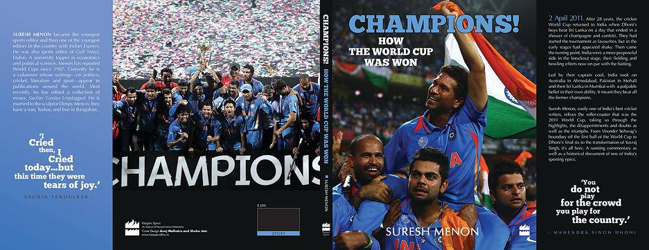 World Cup Cricket book, author suresh menon
