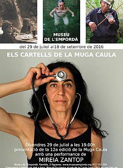 Els cartells de la Muga Caula Museu de l'Empordà