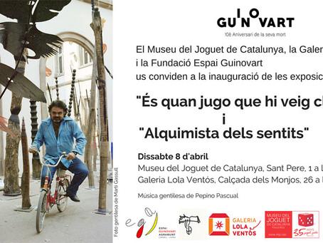 Inauguració i exposició per mostrar la personalitat i l'obra de Josep Guinovart