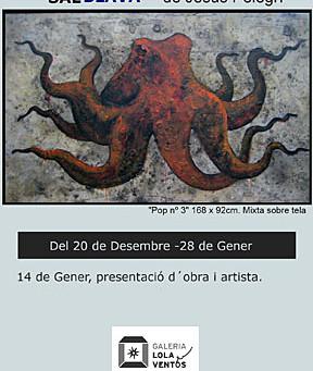 Exposició Sal Blava de l'artista Jesús Pelegrí