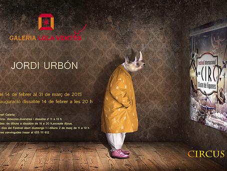 Un any més la Galeria se suma al Festival Internacional del Circ. Aquest any amb Jordi Urbón