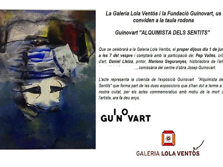"Guinovart ""Alquimista dels Sentits"" taula rodona"