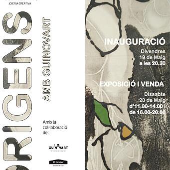 Inauguració, Exposició i Venda 19 i 20 de Maig a la Galeria Lola Ventós