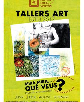 """Tallers d'Art"" Estiu 2017"