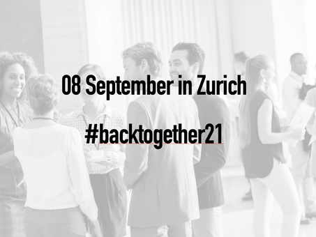 Announcement: Swiss Fintech Fair 2021 | #backtogether21