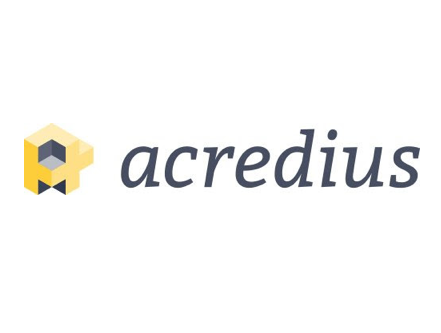 Swiss independent crowdlending platform Acredius with booth & pitch at Swiss Fintech Fair 2019