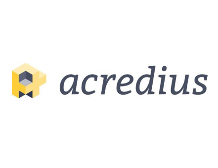 Swiss independent crowdlending platform Acredius with booth & pitch at Swiss Fintech Fair 2019