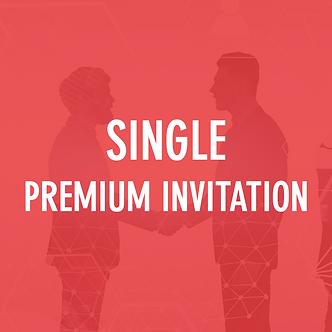 SINGLE: Premium  Invitation