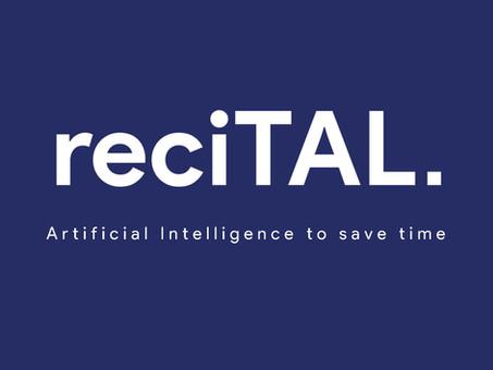 AI natural language processing by recITAL at Swiss Fintech Fair 2019