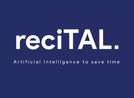 AI natural language processing by recITAL at Swiss Fintech Fair 2019