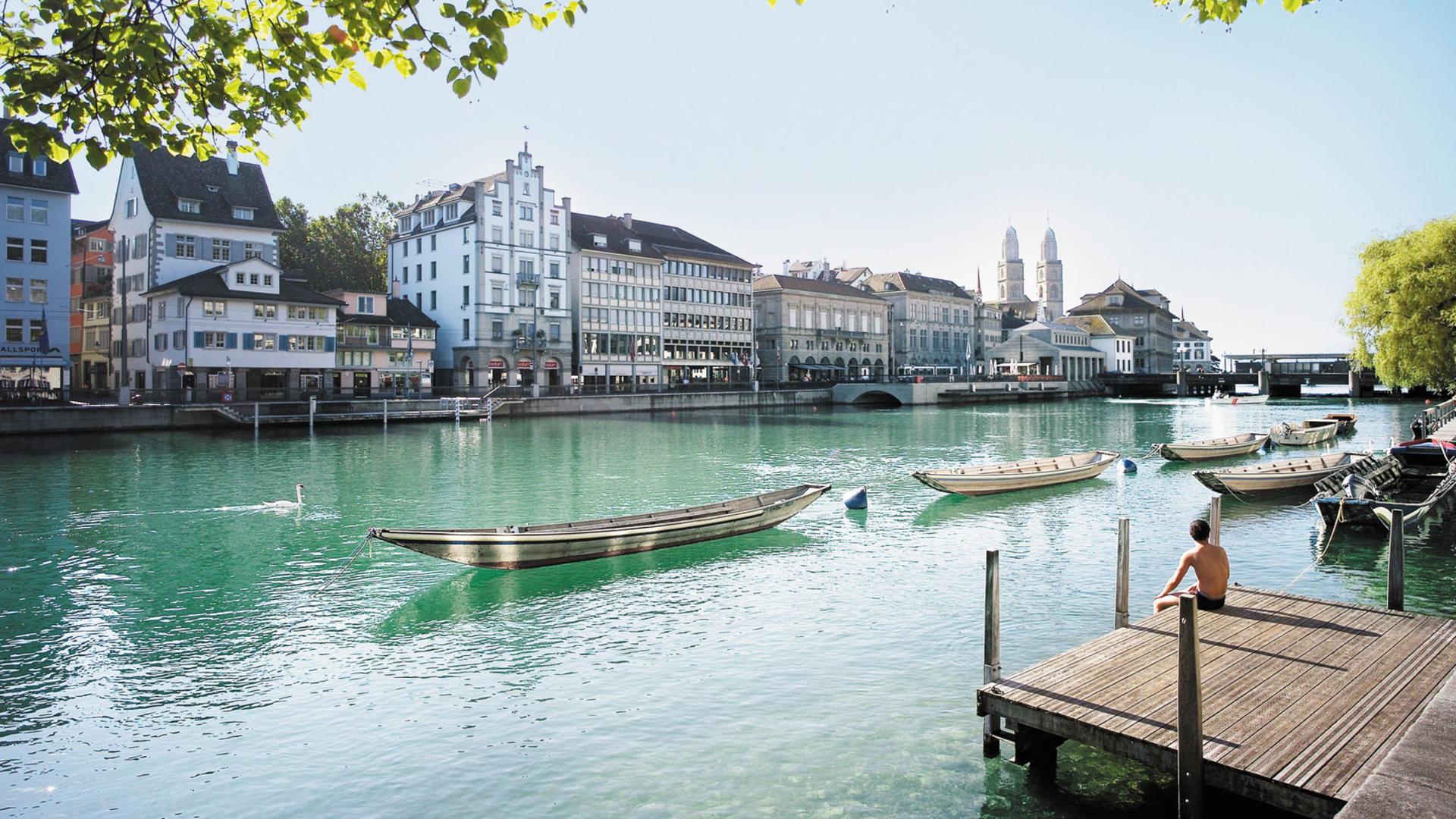 Zurich River Limmat