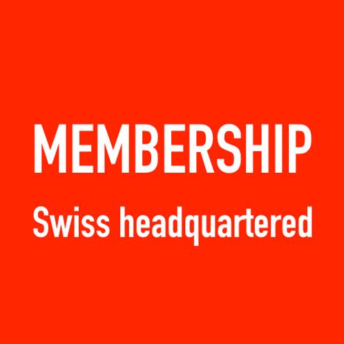 MEMBERSHIP (Swiss headquartered)