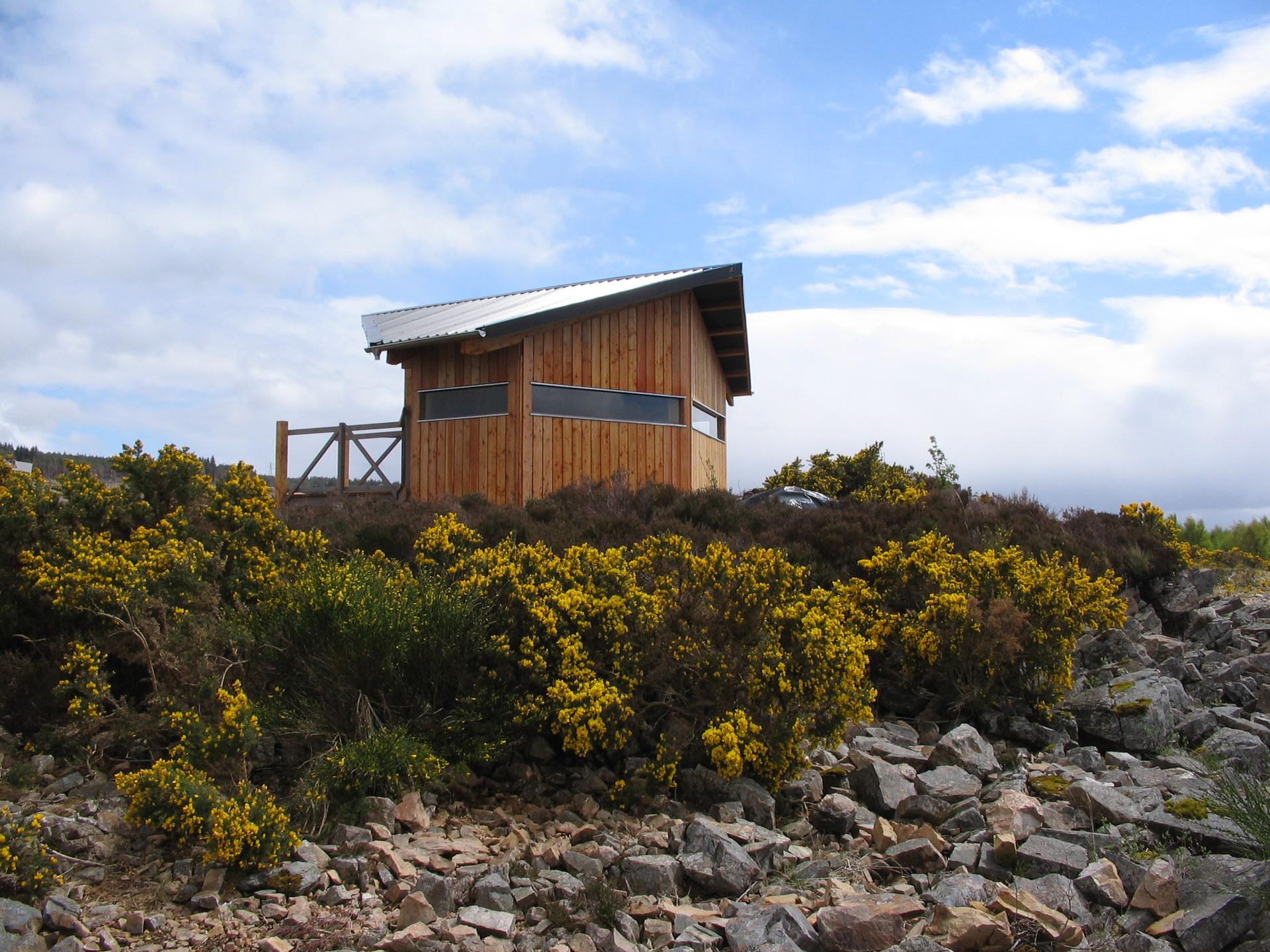 Wildlife Hide near Lairg