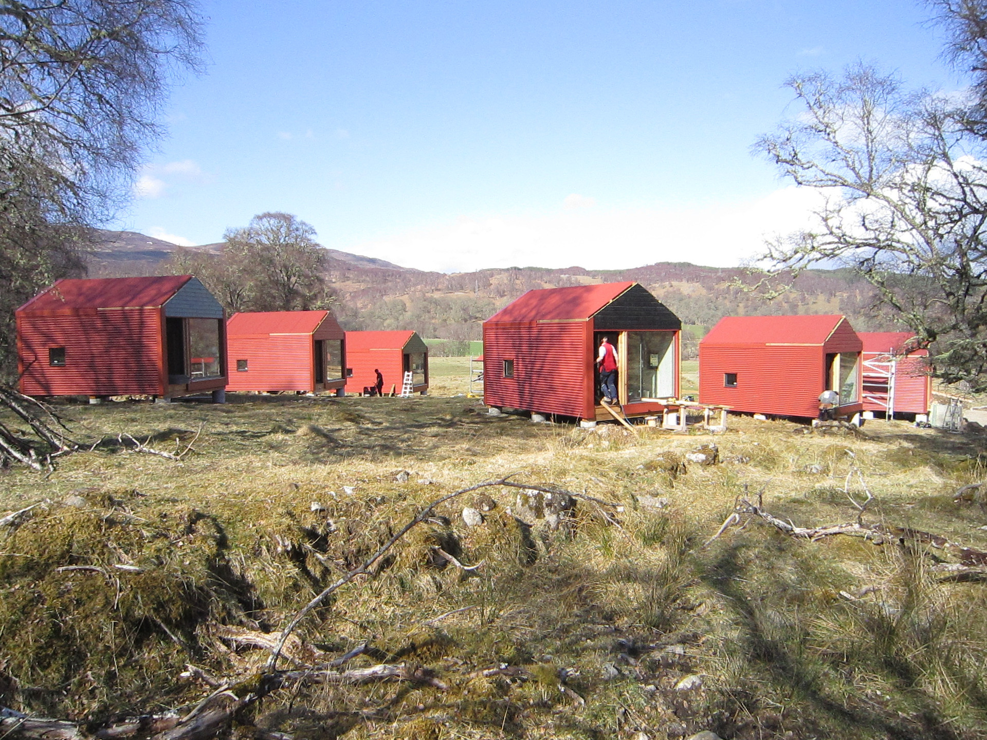 Bothies for The Shieling Project