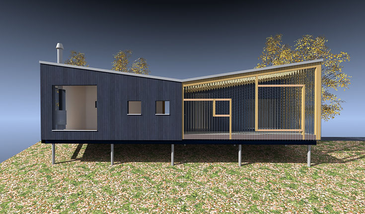 sustainable design of an ecological timber house designed using passive house principles