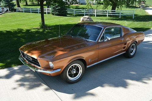 1967 MUSTANG FASTBACK 390 S CODE 4 SPEED
