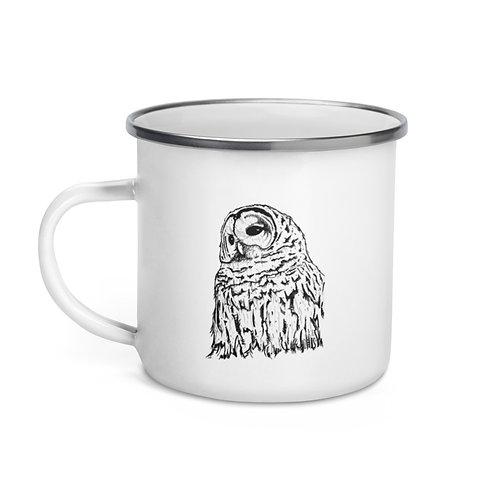 Wise - Enamel Mug
